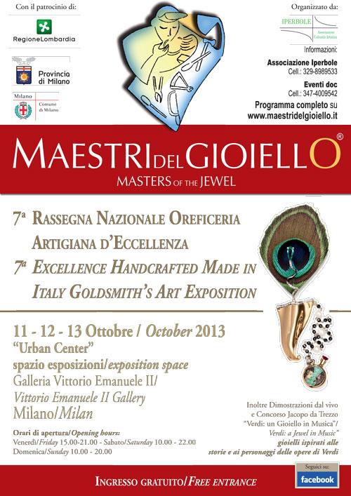 Maestri del Gioiello Ottobre 2013 Urban Center MI